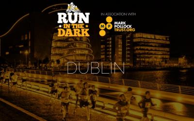 "Nov 14th night run. ""Run in the Dark"""