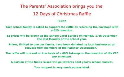 Parents'Association Raffle