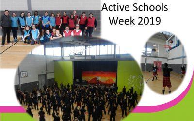 Active Schools Week 2019