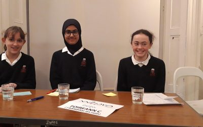 Irish debating team