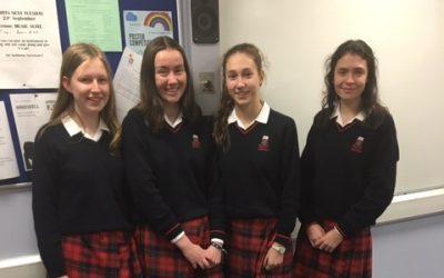 ¡Enhorabuena! to Rosemont's Senior Spanish Debating team!