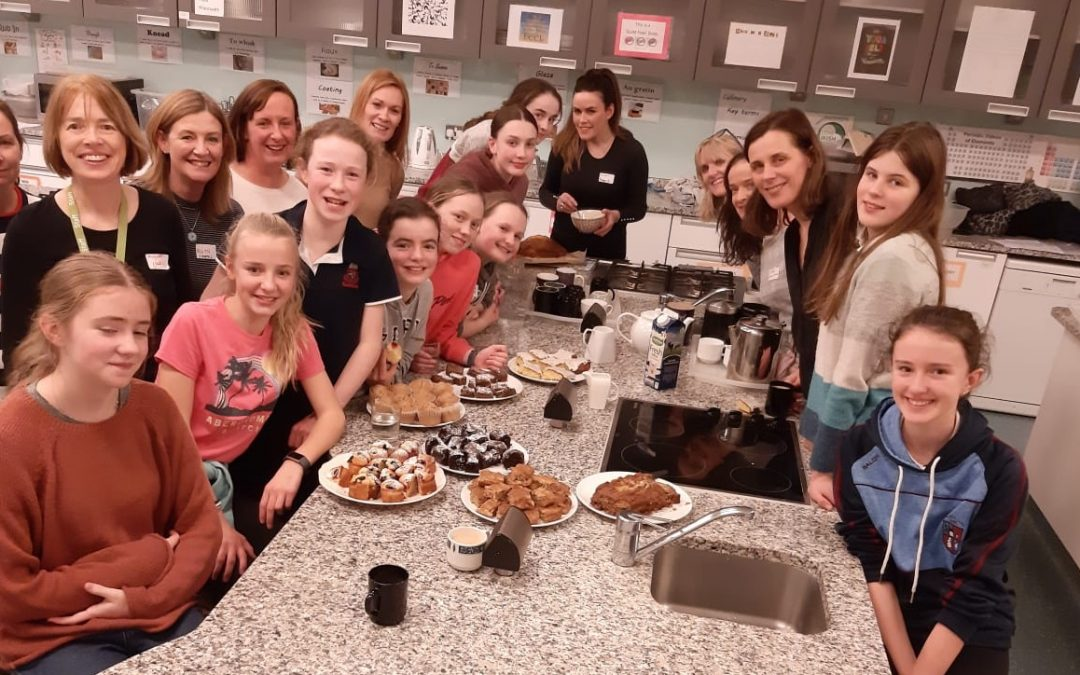 First Year & Mums bake off